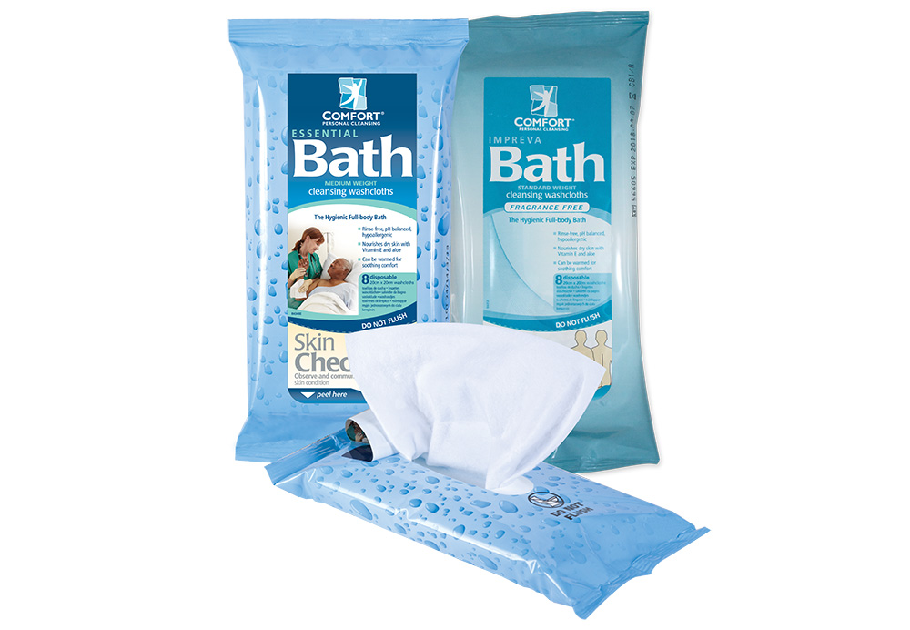 no htm bath disposable comfort cloths photo comforter deodorant larger rinse up clean washcloths p